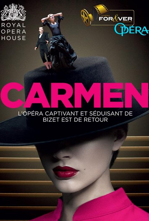 affiche Carmen - Royal Opera House London