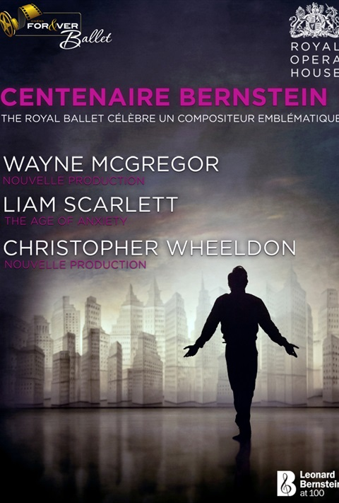 affiche Bernstein - Royal Ballet London