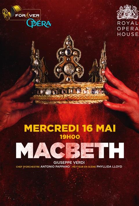 affiche Macbeth - Royal Opera House London