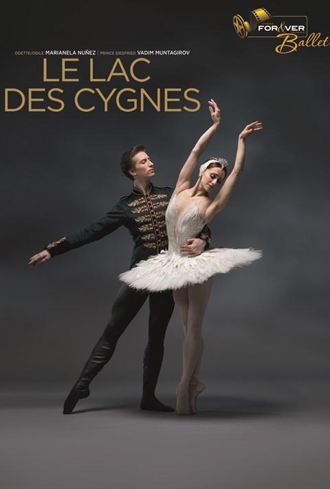 affiche Le Lac des Cygnes - Royal Ballet London