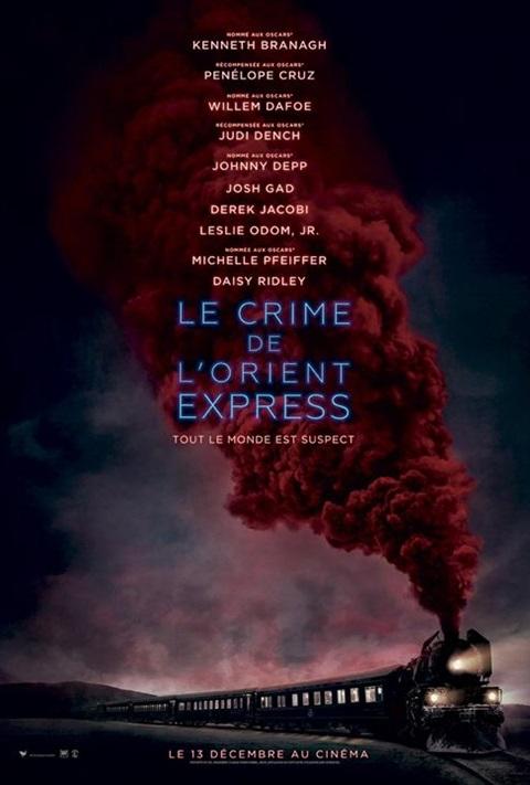 affiche Crime de l'Orient-Express