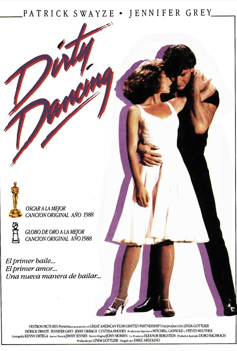affiche Dirty Dancing- Ladies night