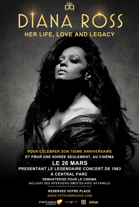 affiche Diana Ross - Her Life, Love and Legacy