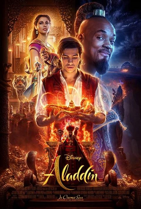 affiche Aladdin- Ladies Night
