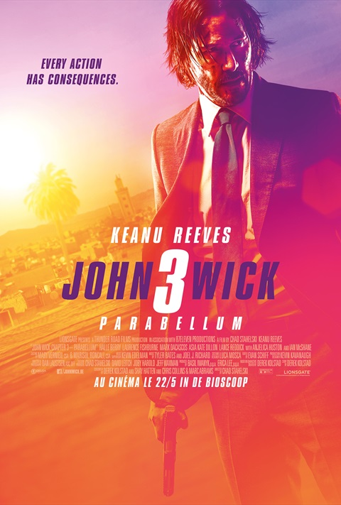 affiche John Wick 3: Parabellum