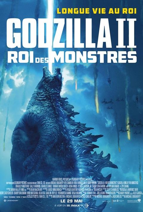 affiche Godzilla: Roi des Monstres
