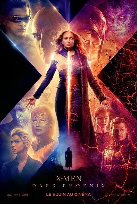 affiche X- Men Dark Phoenix