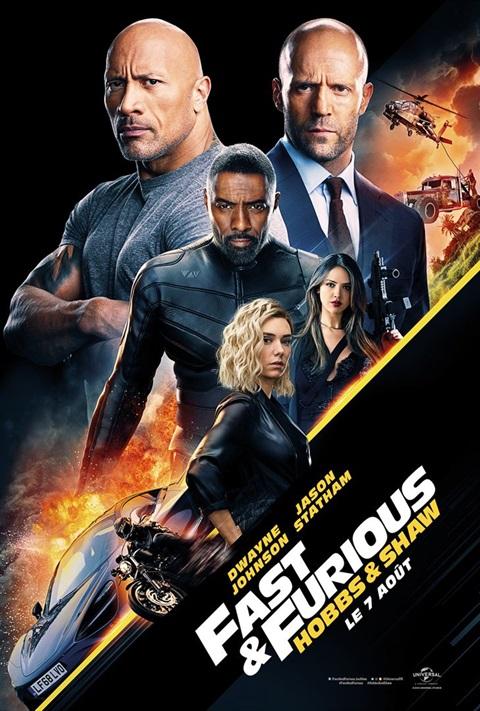 affiche Fast & Furious: Hobbs & Shaw