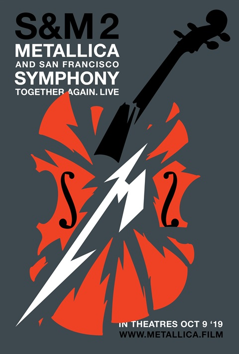 affiche Metallica and San Francisco Symphony