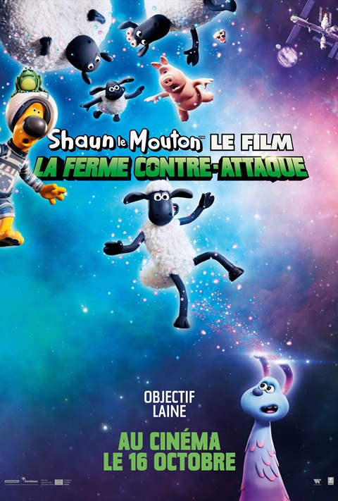 Shaun le Mouton Le Film: La Ferme Contre- attaque