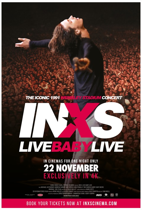 INXS - Live baby Live Wembley 1991