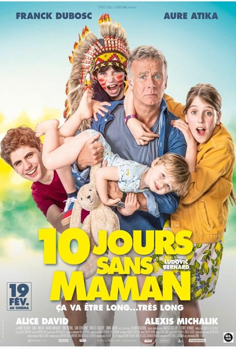 affiche 10 Jours Sans Maman