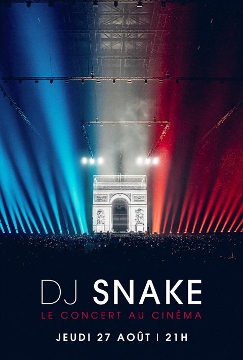 DJ Snake - Concert au cinéma