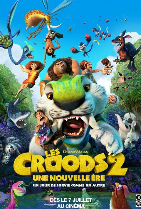 Les  Croods: une Nouvelle Ere