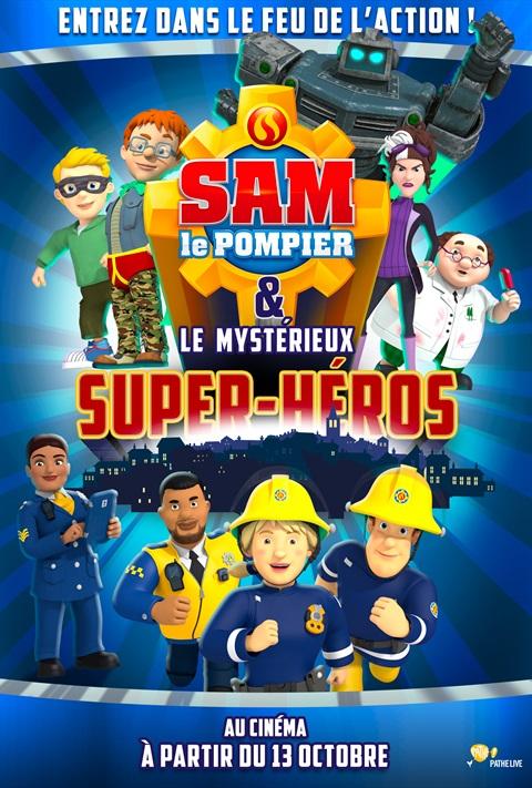 Sam le pompier et le mystérieux super-héros