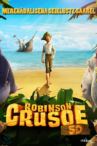 robinson crusoe and friday movie