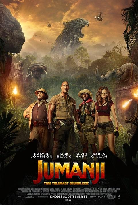 Jumanji: Tere tulemast džunglisse