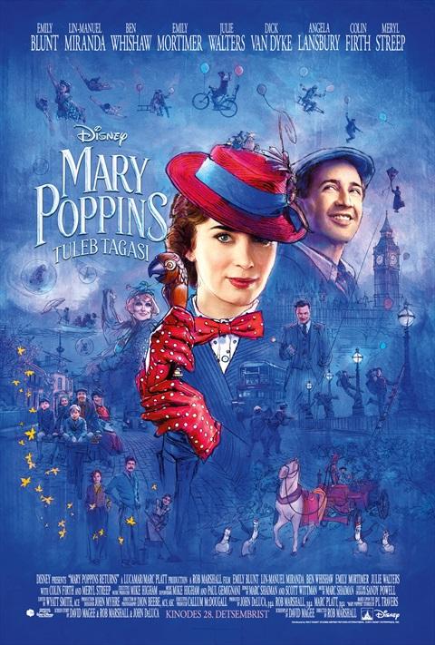 Mary Poppins tuleb tagasi