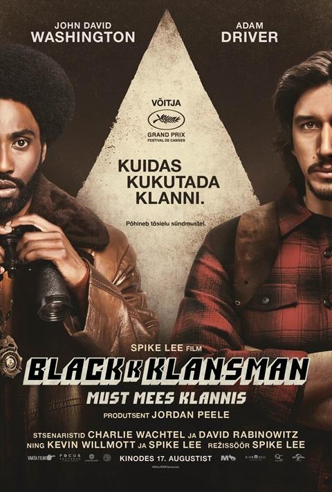 BlacKkKlansman: Must mees klannis