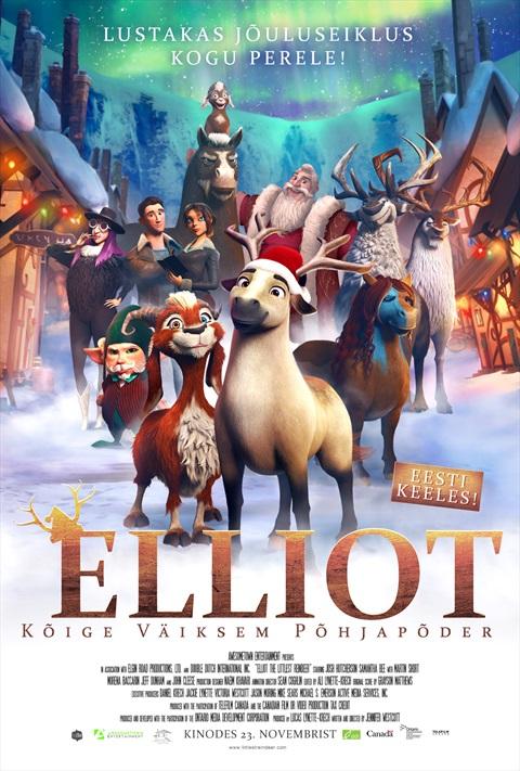 Elliot, kõige väiksem põhjapõder