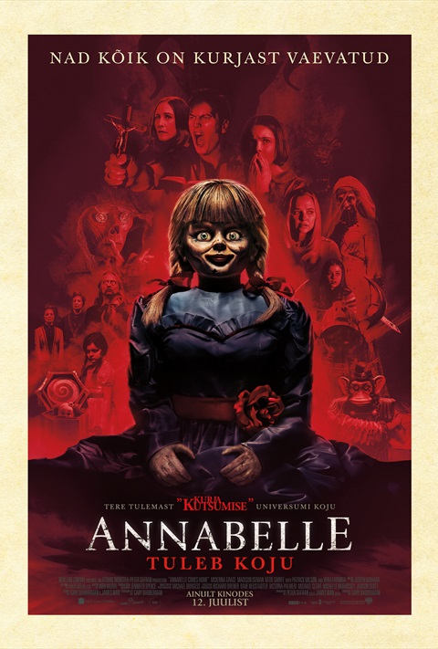 Annabelle tuleb koju