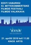 EV 53. mittekommertslike filmide festivali valikkava