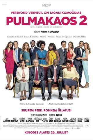 0ae46bc28b1 Pulmakaos 2 (Prantsuse keeles) Qu'est-ce qu'on a encore fait au Bon Dieu?  (2019)