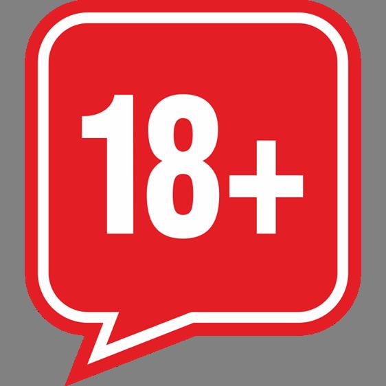 Līdz 18 g.v. - aizliegts