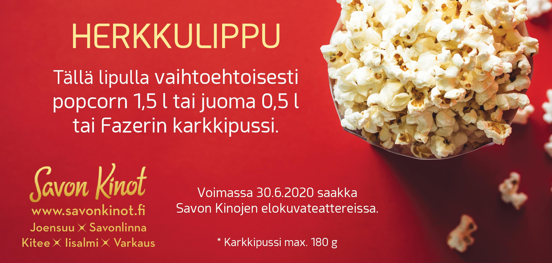 Herkkulippu - Savon Kinot