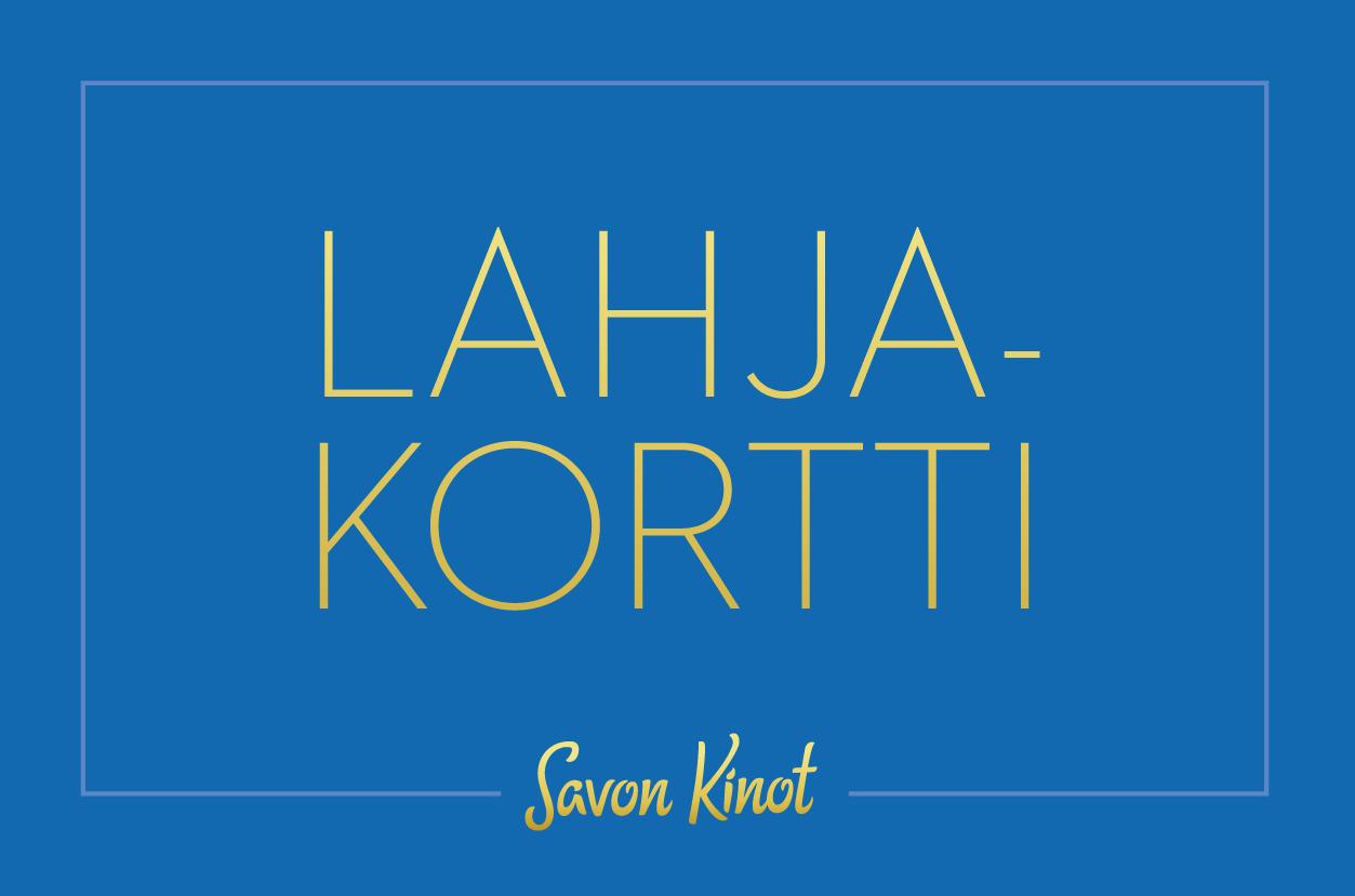 Elokuvalahjakortti - elämyslahjat - Savon Kinot