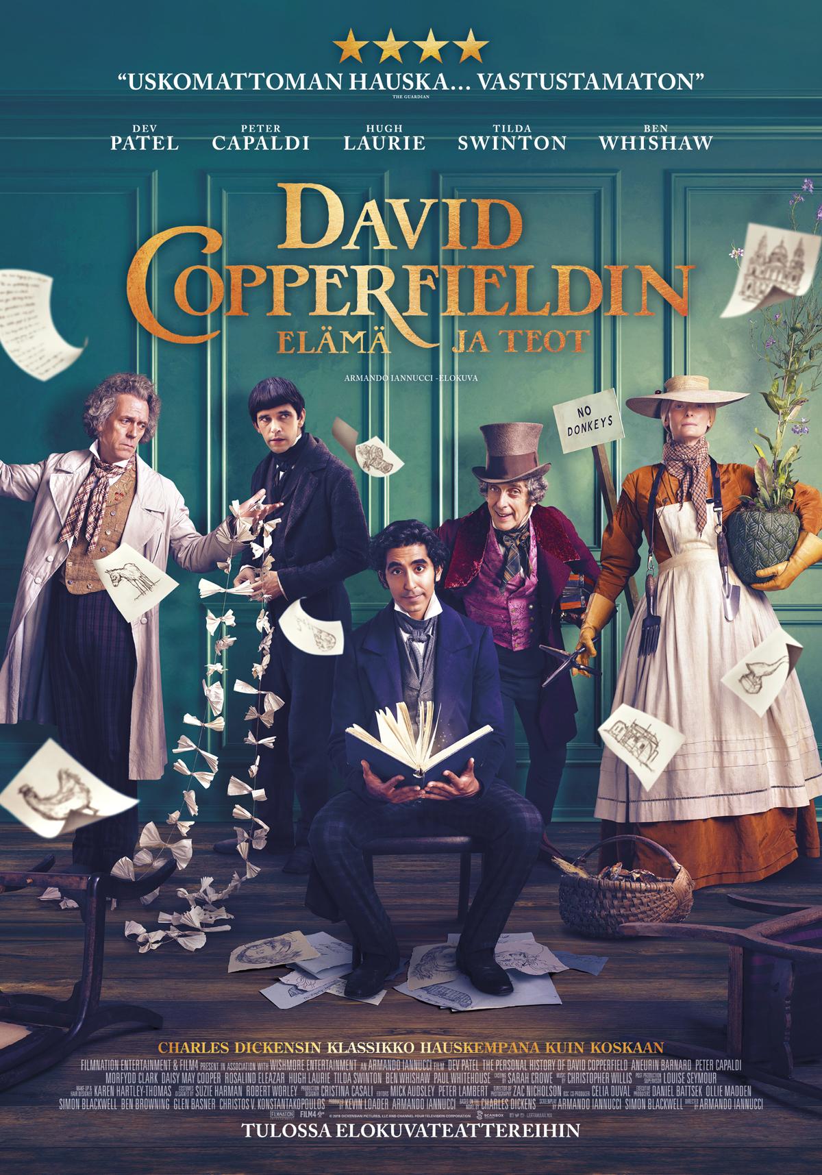 David Copperfieldin elämä ja teot - matineat - Savon Kinot
