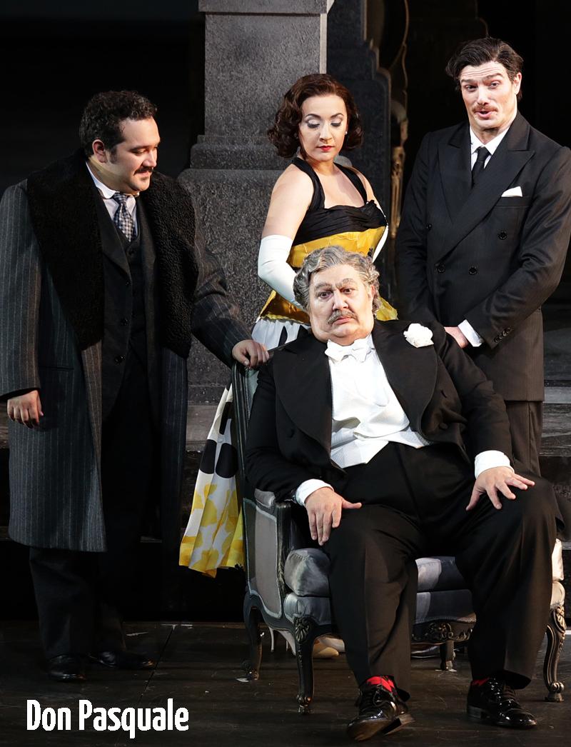 Don Pasquale - oopperat & baletit - Savon Kinot
