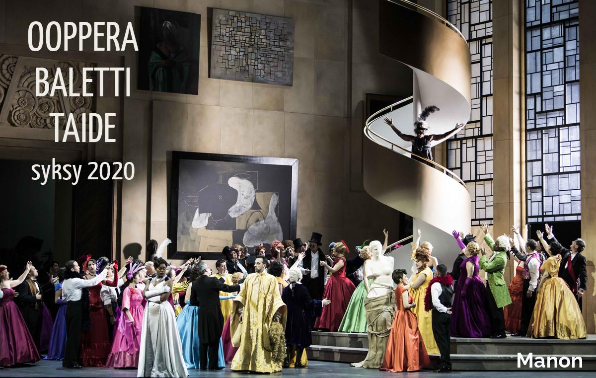 Ooppera - Savon Kinot - Manon
