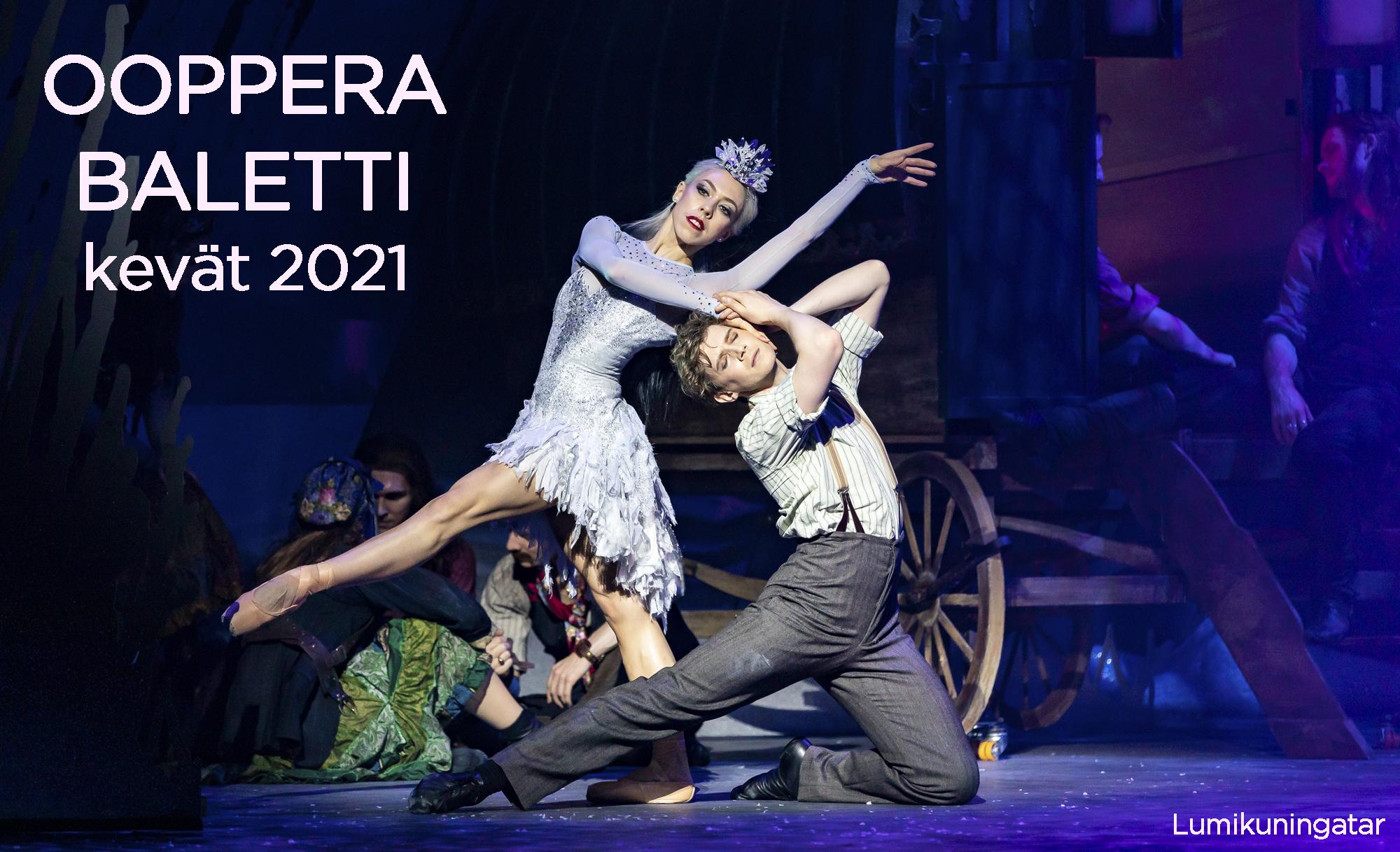Ooppera - baletti - Savon Kinot - Lumikuningatar