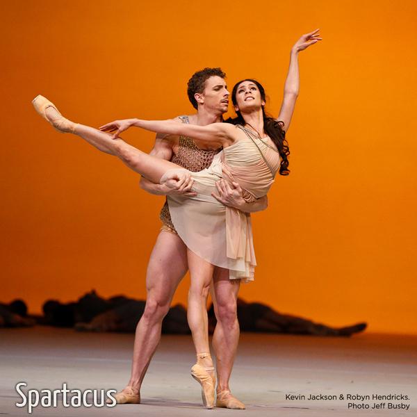 Spartacus - baletti - Savon Kinot
