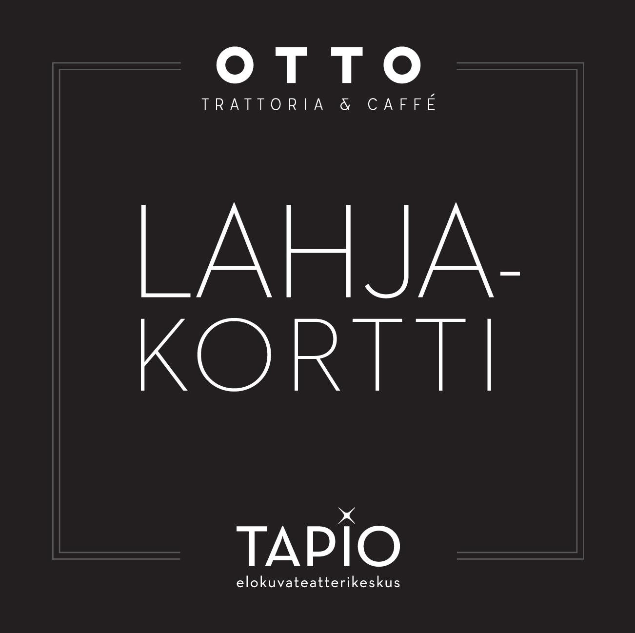 Otto & Tapio -lahjakortti - Savon Kinot