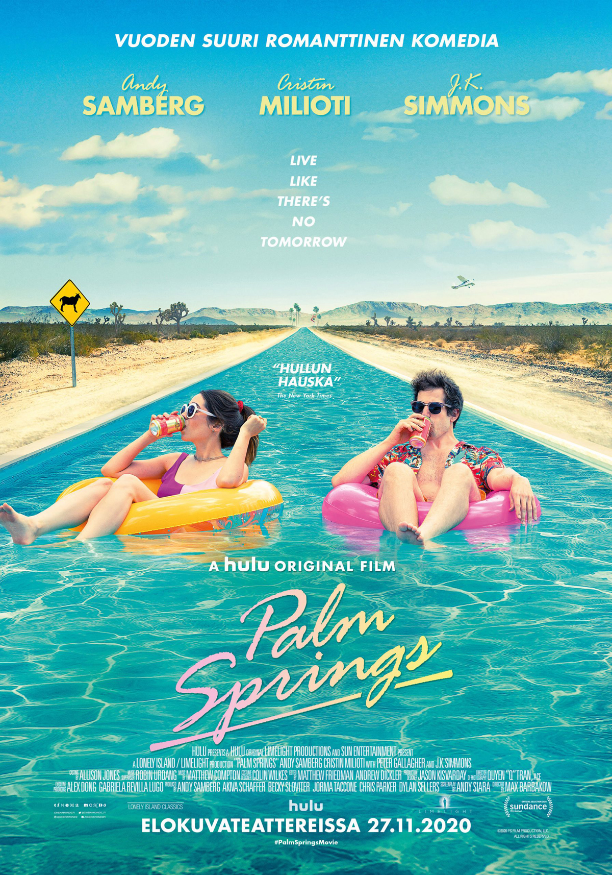 Palm Springs - Savon Kinot - pikkujoulu