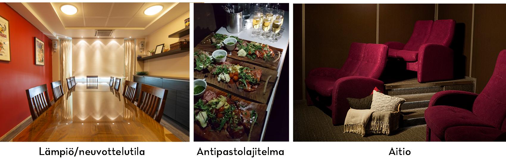 Savon Kinot - aitio - lämpiö - kokoustila - Tapio