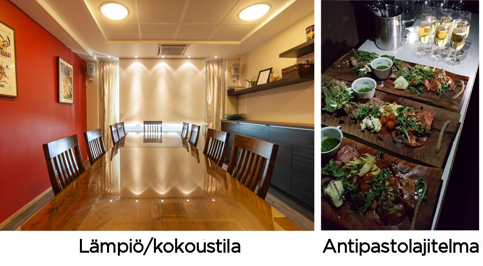 Tapio - lämpiö - kokoustila - Savon Kinot