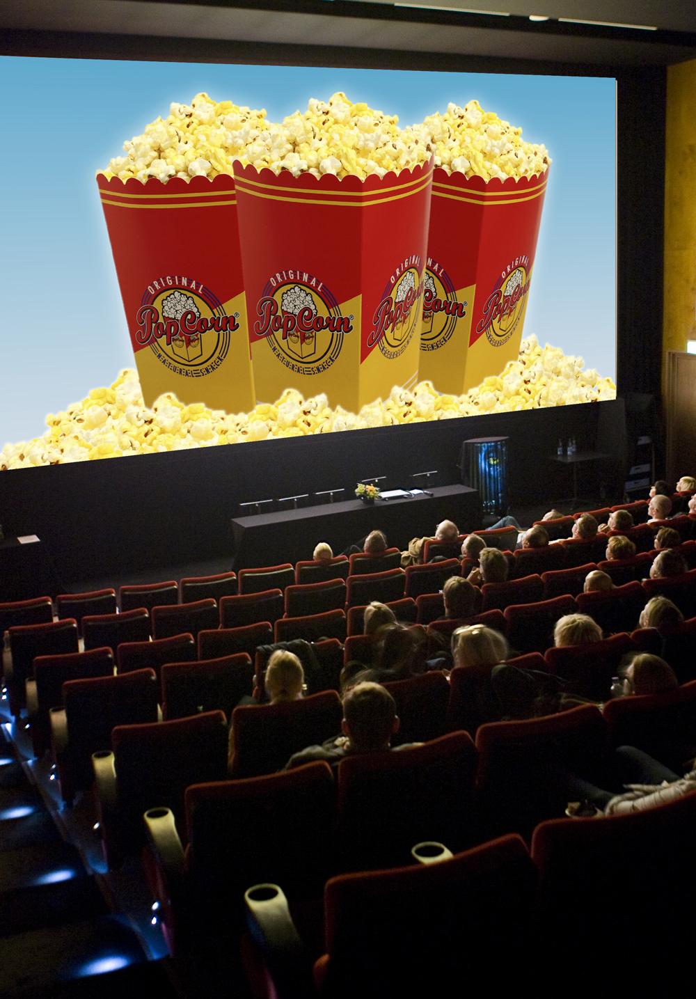 Mainosta elokuvateatterissa - Teatterikeskus Tapio - Savon Kinot Oy